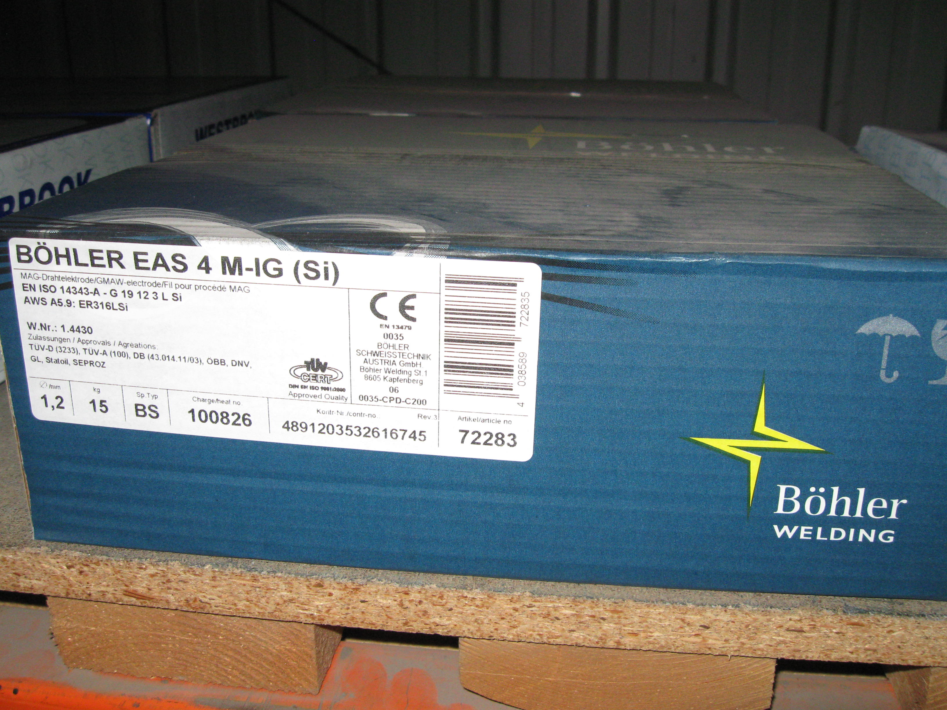 Mig Wire: Wire, Mig Welding 316LSi Bohler EAS 4 M-IG (Si) Mig on ...